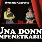 Una donna impenetrabile, Teatro Binario 7, Monza, 24, 25 e 26 maggio 2019