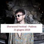 Carl Brave in concerto presso Sherwood Festival di Padova, 21 giugno 2019