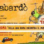 Banbabardò in concerto con Summer Tour 2019, Roma, Villa Ada Roma incontra il mondo, 6 luglio 2019