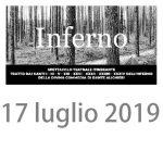 Silvio Peroni mette in scena alcuni canti dell'Inferno di Dante Alighieri, Casale San Pio V, Roma, 17 luglio 2019