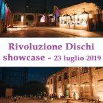Rivoluzione Dischi showcase al Teatro India, Roma, 23 luglio 2019