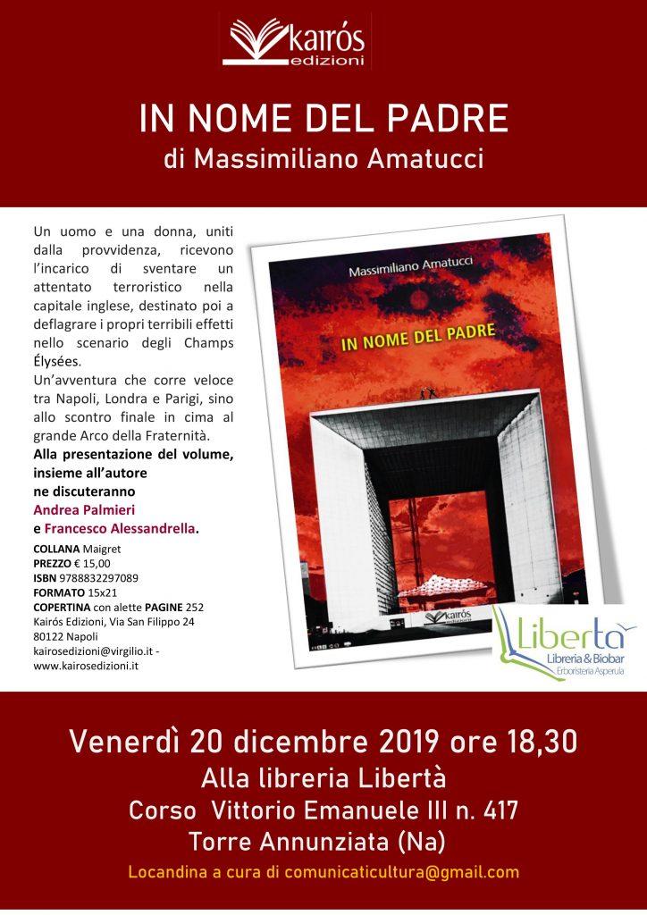 Massimiliano Amatucci Presenta In Nome Del Padre Alla Libreria Libertà Di Torre Annunziata 20 Dicembre 2019 Il Salotto Di Ceci Simo